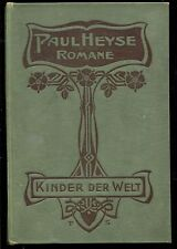 Kinder der Welt--Paul Heyse--Band 2 --1902-