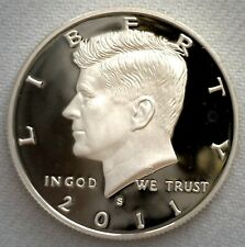2011 S Kennedy Half Dollar CN Clad 50c Proof Coin JFK 50 Cents