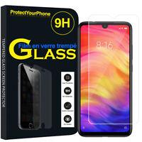 Vitre Protection Écran Film Verre Trempe Xiaomi Redmi Note 7/ Redmi Note 7 Pro