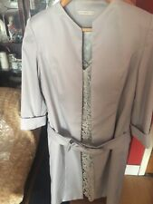 MOTHER OF THE BRIDE/GROOM WEDDING OUTFIT SIZE 14 SILVER/GREY