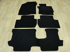"Mitsubishi Outlander Auto (2013-on) Fully Tailored Car Mats Black ""7 Seat Model"""