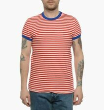 Levi's Cotton Crew Neck Striped T-Shirts for Men