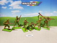 Britains Deetail WW2 American Infantry  (lot 3317)
