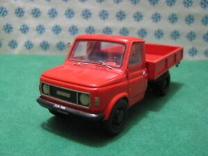 Fiat 616 2° Série Benne - 1/43 Tecnotren Modèle N°1 Certificat