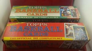 1988 1990 Topps Baseball 2X Full Card Set SEALED BOX Complete Ken Griffey Jr.