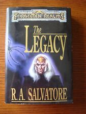 Forgotten Realms: The Legacy by R.A. Salvatore - Vintage Hardcover 1st edition