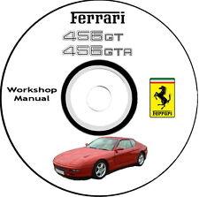Workshop Manual,FERRARI 456 GT 1993 Catalogo Istruzioni per le Riparazioni