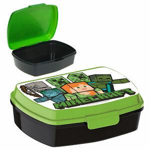 Minecraft Brotdose Lunchbox für das Pausenbrot