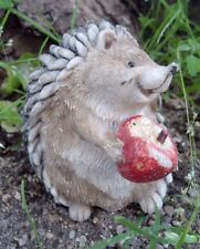 Latex only hedgehog apple mold plaster concrete casting garden mould