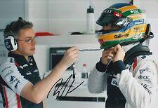 Bruno Senna Hand Signed 12x8 Photo Williams F1 7.