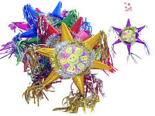 Hand Made Decorative Mini  Pinatas - Happy Birthday - 6 Pc Lot (EPINA3-E#)