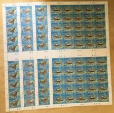 SPECIAL LOT WWF Kiribati 1998 715-8 - Spiny Lobster - 4 Sheets of 50 - MNH