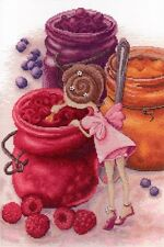 "Counted Cross Stitch Kit MP STUDIO - ""Fairy of berry jam"""