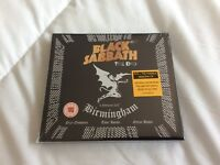 BLACK SABBATH THE END  BIRMINGHAM 2017 CD+DVD NEW AND SEALED.