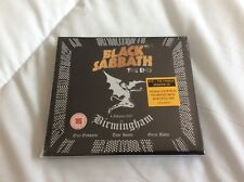 BLACK SABBATH THE END  BIRMINGHAM 2017 CD+DVD NEW AND SEALED.