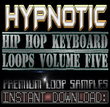 Hypnotic Hip Hop PIANO,KEYS WAV LOOPS Sample Sounds 5-Reason,Studio,Ableton,Akai