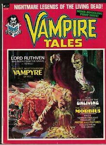 Marvel Comics Vampire Tales 1 1st Solo Blade Near mint 9.0 morbius