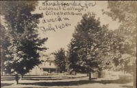 Elizabethtown NY Colonial Cottage 1906 Real Photo Postcard