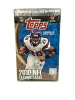 2010 Topps NFL Football Cards Box Factory Sealed Hobby Box Collectible Trading