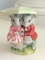 Beatrix Potter Figurine GOODY & TIMMY TIPTOES Warne Beswick England 1989