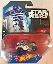 Hot Wheels Star Wars R2-d2 Character Car by Mattel (o0h)
