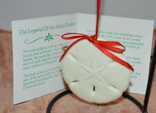 Midwest Legendary Sand Dollar  Ceramic Christmas Ornament