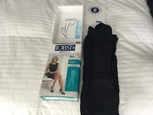 JOBST Medical Compression Stockings 20-30 mmHg MED Ultra Sheer NAVY Women