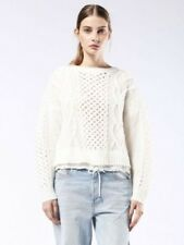 Diesel Grata ladies jumper, size L, BNWT, Cream