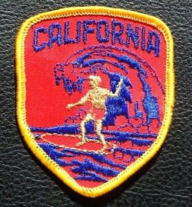 Vintage California Surf Patch