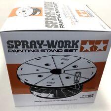 TAMIYA SPRAY-WORK PAINTING STAND SET ( Body stand & Turntable ) 74522 JAPAN