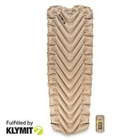 Klymit Insulated Static V Luxe SL XL Sleeping Camping Pad- Certified Refurbished