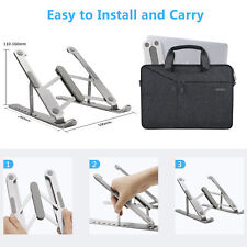 Adjustable Laptop Notebook Table Stand Tray Lazy Foldable Computer Desk Portable