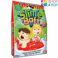 SLIME BAFF OOZE RED SLIMY GOO GELLI JELLY BATH MAGIC POWDER KIDS CHILDREN NEW