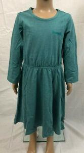 BENCH Mädchen Kleid Skaterkleid Sommerkleid mint meliert NEU Größe 128/134