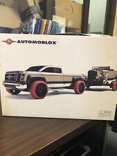 Automoblox Truck W/car & Trailer