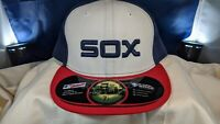 "Chicago White Sox New Era 7 1/2"" Fitted Hat 59Fifty 5950 Throwback - NWOT"