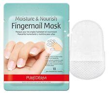 Purederm Moisture n Nourish Fingernail Mask Pack (10 sheets) Nail Moisturizing
