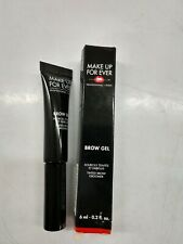 Make Up For Ever Brow Gel Tinted Brow Groomer #00 Transparent BNIB 0.02oz As Pic