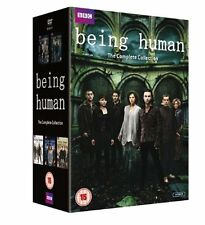 "BEING HUMAN COMPLETE BBC SERIES COLLECTION 1-5 DVD BOX SET 14 DISCS ""NEW&SEALED"""