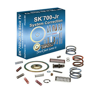 700R4 4L60 Transmission Shift Kit Valve Body Correction Kit 85 Up SK 700 JR