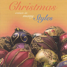 FREE US SHIP. on ANY 3+ CDs! NEW CD Christmas Comes in Many Styles: Christmas Co