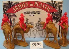 Armies in Plastic 5596 -Egypt & Sudan  British Camel Corps 1882 Set1 Figures