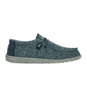 Hey Dude Men's Wally Sox Aqua Shoes 110352100