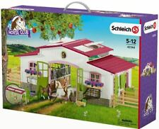 Schleich Horse Club 42344 Riding Centre with Rider and Horses