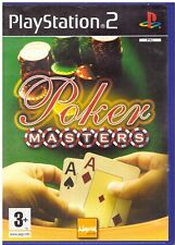 PS2 - Poker Masters (Sony PlayStation 2, 2005) - COMPLETE