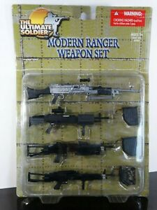 Ultimate Soldier Modern Army Ranger Weapon Set Ammo 1:6 Scale 21st Century Toys