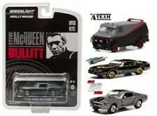 Greenlight 1:64 - Moviecar SET 4 St. - A-Team - Bullit - Smokey - Eleanor NEU
