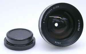 Carl Zeiss Jena Flektogon 4/25 Camera Lens - Free Shipping
