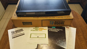 Sansui Digital Synthesizer Tuner TU-D55XL, with original box and manual