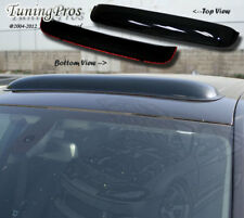 For Toyota Yaris 2 Door 07-11 3pc Deflector Outside Mount Visors & 3.0mm Sunroof